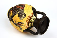 Greek Amphora Royalty Free Stock Photos