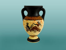 Greek Amphora Stock Photography