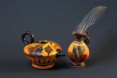 Greek Amphoras Royalty Free Stock Images