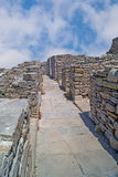 Greek ancient city on Delos islnad Royalty Free Stock Photography