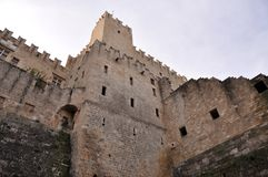Free Greek Ancient Fortress Walls Of Rhodes Stock Photography - 106014742