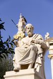 Greek ancient philosopher Platon. In Athens Stock Image