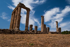 Greek Ancient Temple Royalty Free Stock Photography