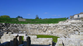 Greek ancient theater Stock Image