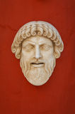 Greek antique mask Royalty Free Stock Photos