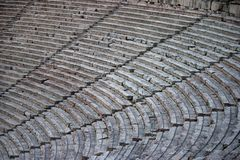 Greek antique theater Royalty Free Stock Photography