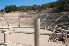 Greek antique theater Royalty Free Stock Photos