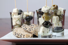 Greek appetizers Royalty Free Stock Images