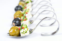 Greek appetizers royalty free stock photos