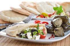 Greek appetizers Stock Images