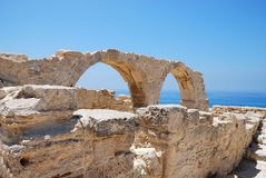 Greek arch Royalty Free Stock Photo