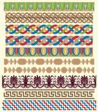 Greek architectural ornaments vector illustration