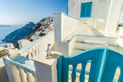 Greek Architecture in Santorini Royalty Free Stock Images