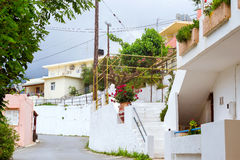 Greek architecture in Village Bali, Crete Royalty Free Stock Photography