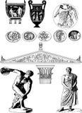 Greek art Stock Photography