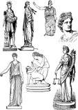 Greek art Stock Photo