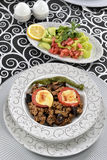 Greek Balkan Lamb Moussaka Royalty Free Stock Images