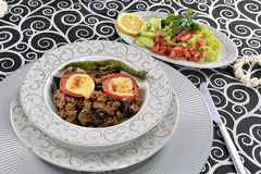 Greek Balkan Lamb Moussaka Stock Image