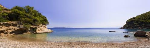 Greek beach Stock Photo