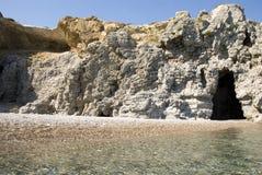 Greek beach Stock Photos
