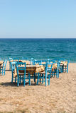 Greek beach Stock Photo