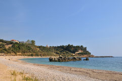 Greek beach Royalty Free Stock Images