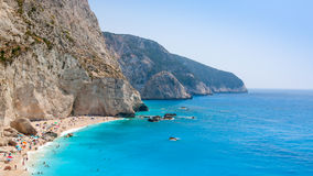 Greek beach Stock Photography