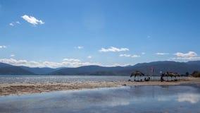 Greek beach timelapse Royalty Free Stock Photography