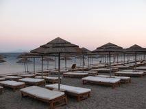 Greek beach Royalty Free Stock Image