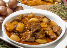 Greek beef stifado Royalty Free Stock Image