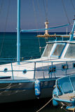 Greek Boats Royalty Free Stock Photography