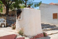 Greek bread oven, Halki Royalty Free Stock Photos