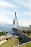 Greek bridge Royalty Free Stock Images