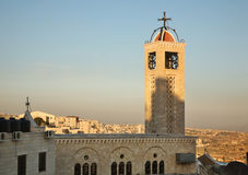 Greek Byzantine Catholic Church in Bethlehem. Palestinian territories. Israel Stock Photo