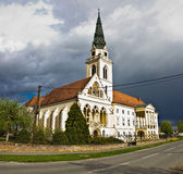 Greek catholic cathedral in Krizevci Stock Photos