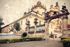 Greek Catholic Cathedral of Saint George Royalty Free Stock Photography