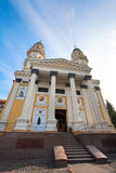 Greek Catholic Cathedral  in Uzhhorod City. Stock Images