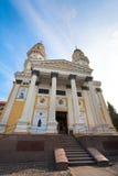 Greek Catholic Cathedral  in Uzhhorod City. Stock Images