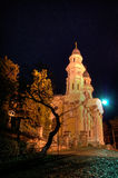 Greek Catholic Cathedral in Uzhhorod City Royalty Free Stock Image