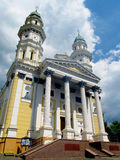 Greek Catholic Cathedral, Uzhhorod, Ukraine Stock Photo