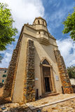 The Greek Catholic church in Corsican village Cargese Stock Image