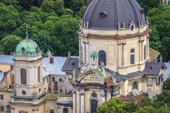 Church in Lviv Royalty Free Stock Photography