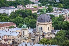 Church in Lviv Stock Photo