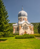 Greek Catholic church in Polany Stock Photos
