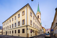 Greek-Catholic Church. Zagreb. Croatia. Stock Image