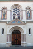 Greek Catholic Church in Zagreb, Croatia Stock Photo
