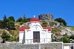 Greek chapel Royalty Free Stock Photography