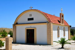 Greek chapel Stock Photos