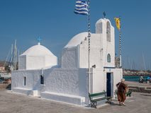 Free Greek Chapel At Aegina Royalty Free Stock Photos - 104190788
