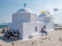 Free Greek Chapel At Aegina Royalty Free Stock Image - 104190956
